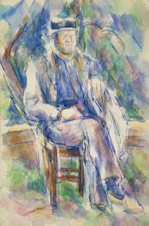 Paul Cézanne acquarello